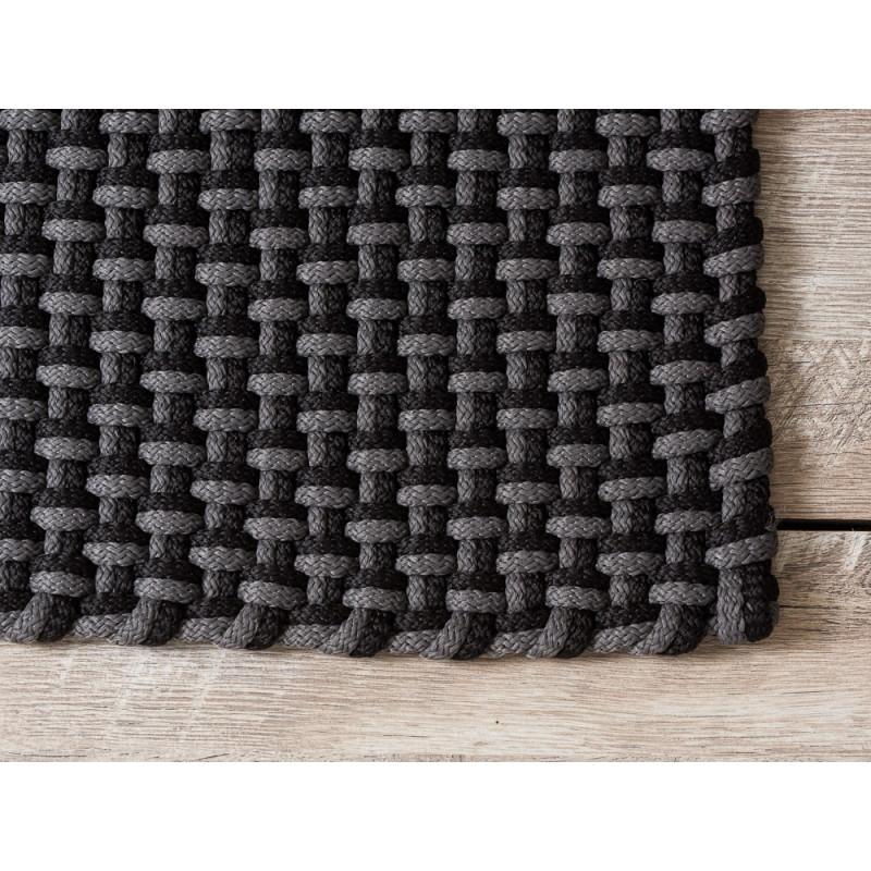 Pad Outdoor Fussmatte Teppich Pool grau schwarz Matte Pad Concept stone black Detail