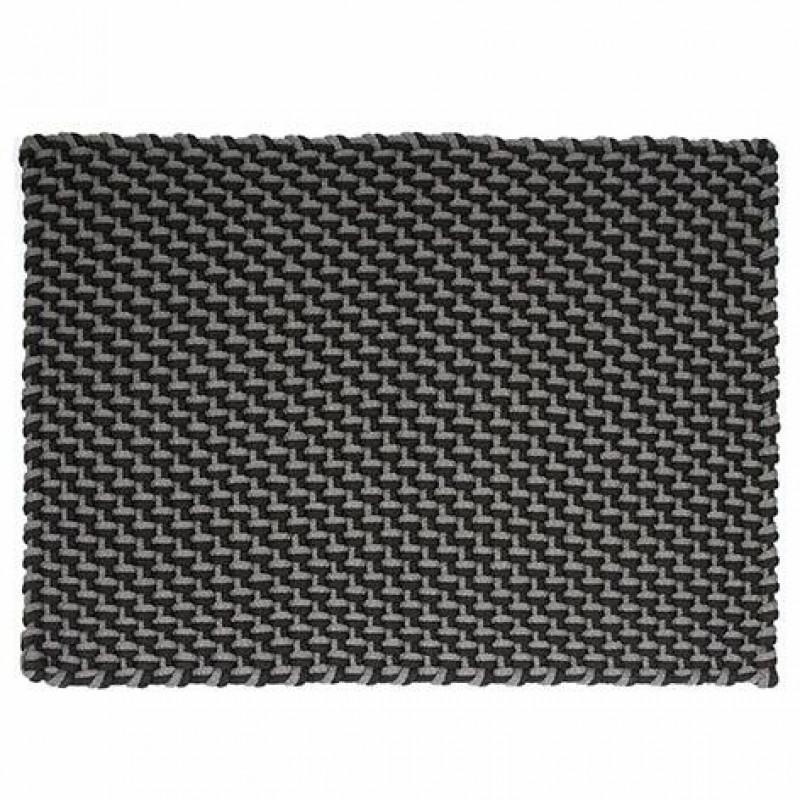 Pad Outdoor Teppich Pool schwarz grau In Outdoor Matte 140x200 waschbar Pad Concept Farbe stone black 64213 K40