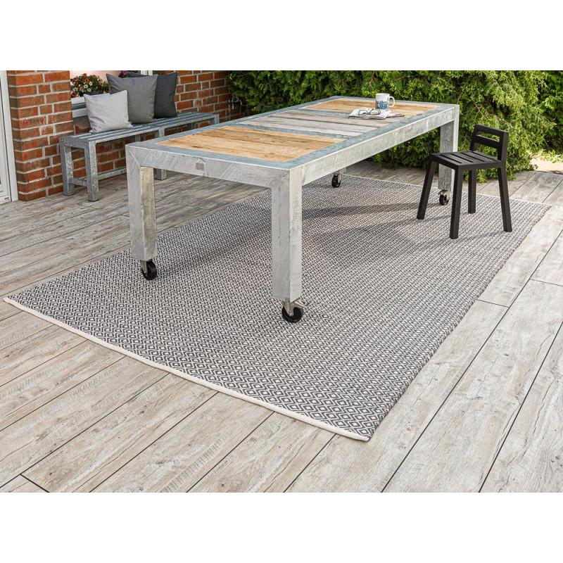 pad teppich akzent grau beige 2x3 meter pad concept. Black Bedroom Furniture Sets. Home Design Ideas