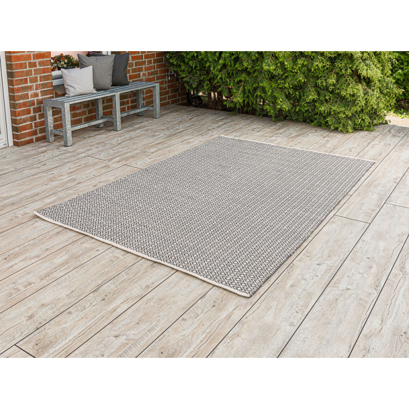pad teppich akzent grau beige 170x240 pad concept. Black Bedroom Furniture Sets. Home Design Ideas