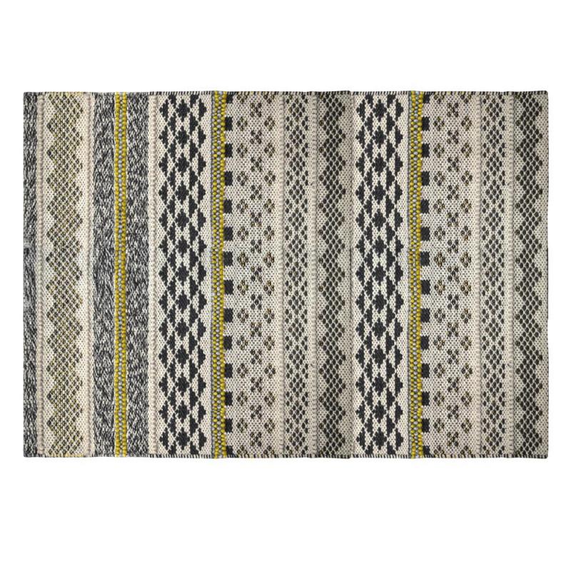 indoor teppich nova mustard grau 90x160 pad concept. Black Bedroom Furniture Sets. Home Design Ideas