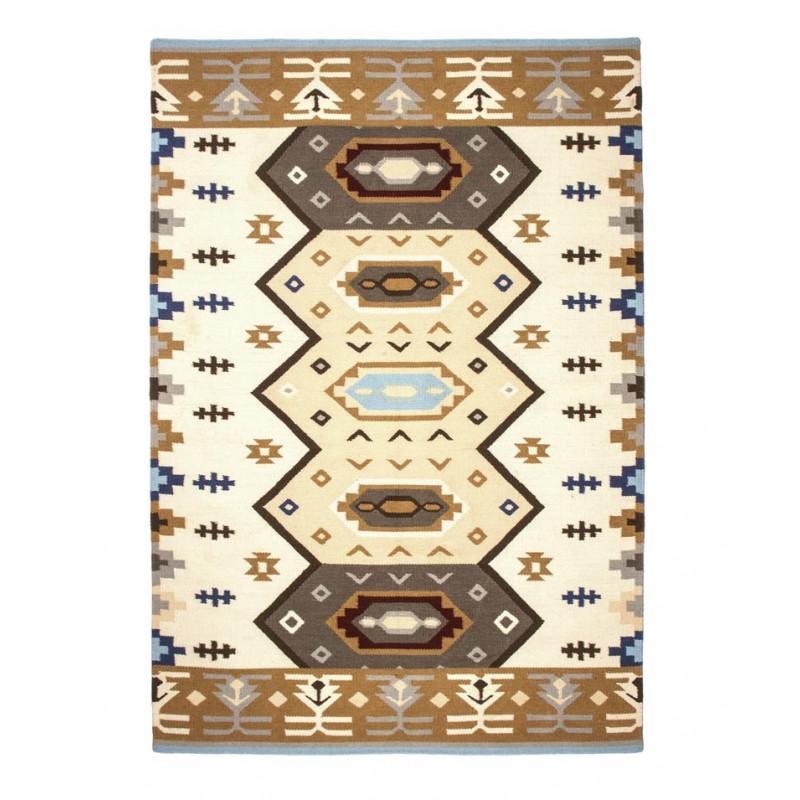 teppich quero blau 140x200 cm pad concept. Black Bedroom Furniture Sets. Home Design Ideas