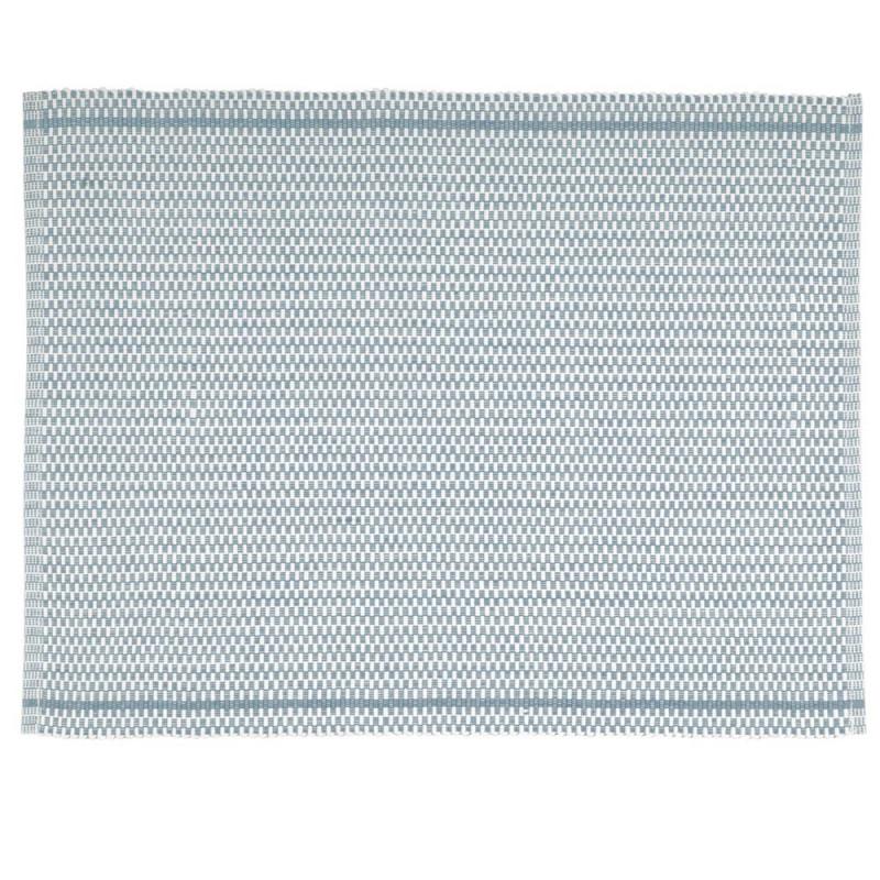 Pad Tischset Quadro aqua türkis aus Baumwolle pad concept Platzset