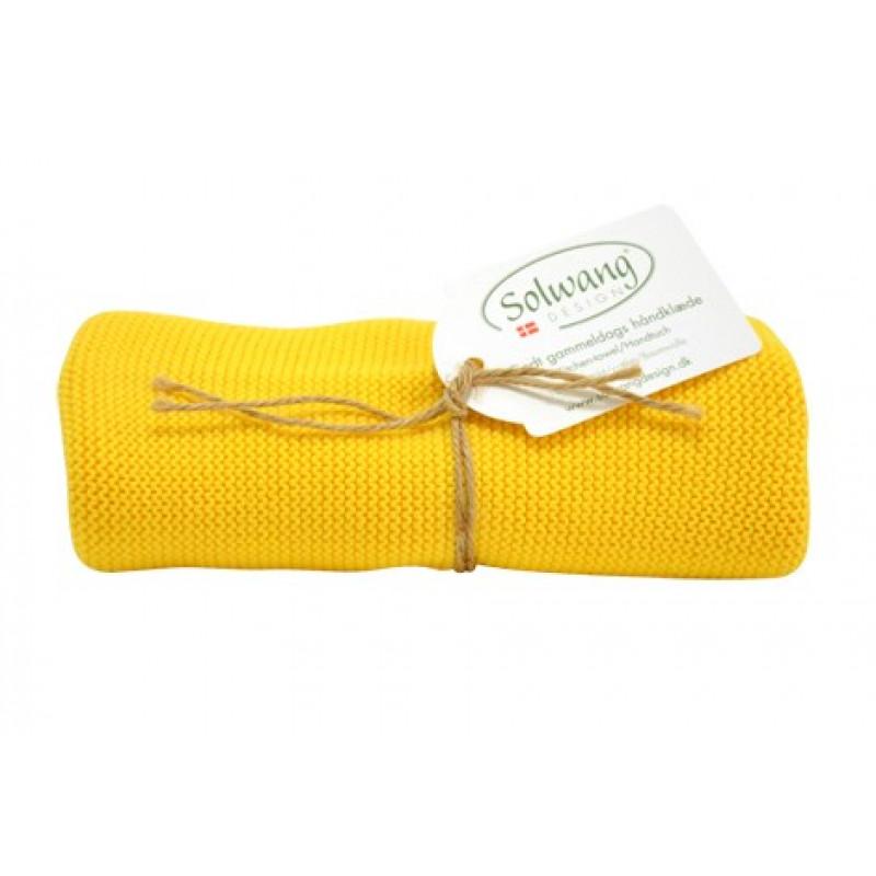 solwang k chentuch gelb aus baumwolle gestrickt handtuch im d nischen design als geschenk. Black Bedroom Furniture Sets. Home Design Ideas