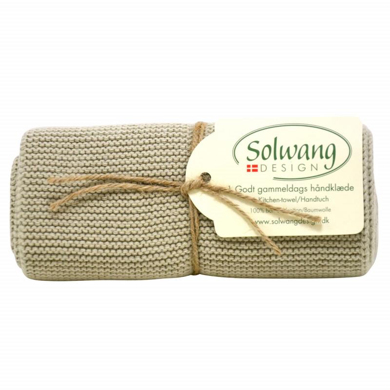 Solwang Küchentuch olive Geschirrtuch aus Baumwolle Solwang Design H13