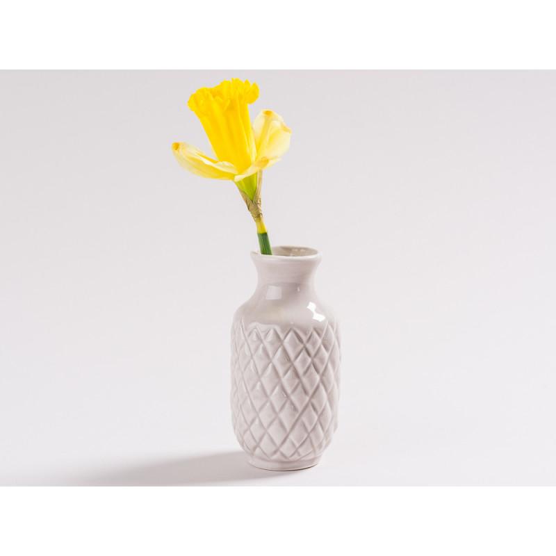 vase bea blumenvase grau 10 cm wohnhaus welten. Black Bedroom Furniture Sets. Home Design Ideas