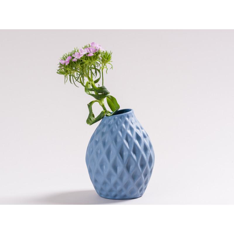vase happy blau skandinavisches design nordic style. Black Bedroom Furniture Sets. Home Design Ideas