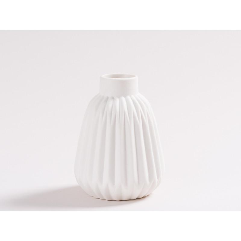vase sina wei blumenvase aus keramik hier bestellen. Black Bedroom Furniture Sets. Home Design Ideas