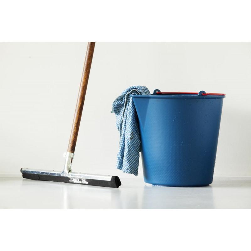 Xala Drop Eimer Wischeimer aus stabilem Kunststoff in blau für 13 Liter