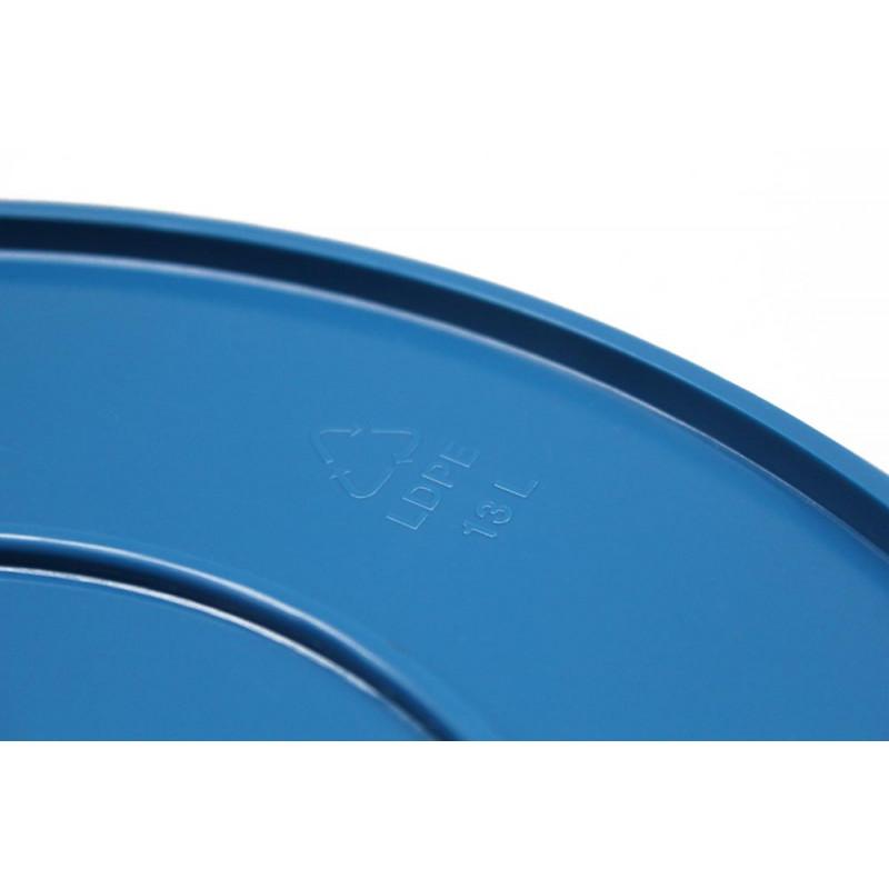 Xala Eimer Drop blau gefertigt aus LDPE Kunststoff 13 Liter Inhalt