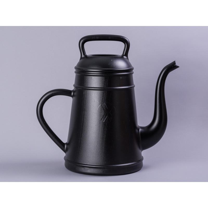 Xala Lungo Giesskanne schwarz Kaffeekanne aus Kunststoff 12 Liter Inhalt Landhaus Design Gartendeko