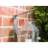 A2 Living Wandhalter Zink für Allwetter Laterne wetterfest verzinkt rostfrei mit Mini Laterne