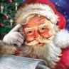 Ambiente Weihnachts Servietten Remember Santa mit Weihnachtsmann