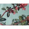 AU Maison Outdoor Teppich Meadow Mint mit Blumen Garten waschbar für draussen aus PET recycelt Detail Stoff