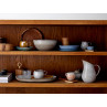 Bloomingville Becher Sandrine Grau XL Kaffeebecher aus Keramik skandinavisch modern Design
