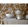 Bloomingville Geschirr Carrie aus Keramik creme beige Teller Tasse Schalen