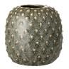 Bloomingville Vase grün Keramik 14 cm