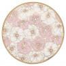 Gate Noir Teller Flori Pale Pink Greengate Kuchenteller rosa Blumen 20 cm