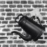 Gießkanne Lungo schwarz 12 Liter Kunststoff von Xala Black is beautiful