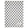 Greengate Geschirrtuch SAVANNAH Weiss Schwarz Punkte Baumwolle 50x70 GG Produkt Nr COTTEASAV0112