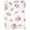 Greengate Geschirrtuch SONIA Weiss mit Blumen Baumwolle 50x70 GG Produkt Nr COTTEASOI0112
