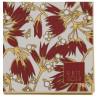 Greengate Servietten Florette bordeaux rot weiß Blumen Muster Gate Noir Papier Servietten mit Goldrand