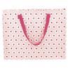 Greengate Tasche Rosa Pink mit Punkten und Erdbeeren Storage Bag PET Kunstoff recycelt Aufbewahrungstasche groß