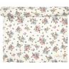 Greengate Tischläufer ELLIE Weiß Blumen Vögel Baumwolle Greengate Tischdecke Nr COTTAR140EIE0104