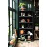 IB Laursen Becher Mynte Orange Keramik Geschirr Pumpkin Spice Tasse mit Henkel Kisten Apfelkisten Vase Pflanzenhänger