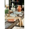 IB Laursen Mynte Kanne Orange Keramik Geschirr Pumpkin Spice gedeckter Tisch