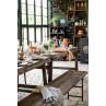IB Laursen Mynte Kanne Orange Keramik Geschirr Pumpkin Spice Küche Dekoration gedeckter Tisch