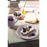 IB Laursen Mynte Muffinschale Lavender Lila Keramik Geschirr Hygge mit Becher Teller und Schale