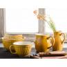 IB Laursen Mynte Shop Geschirr zum Backen Gelb Senfgelb Mustard Rührschüssel Schalen und Krug