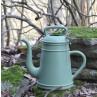Lungo Gießkanne grün aus Kunststoff mit zwei Griffen für 12 Liter Xala Design