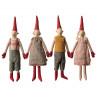 Maileg Wichtel Mini Pixy 4er Set 2 x Junge 2 x Mädchen Weihnachten Dekoration