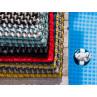 Pad Fussmatte Outdoor Teppich UNI und Pool Stapel mit allen Farben am Schwimmbecken UV und Wetterbeständig modernes Design Web-Look für draussen und drinnen