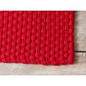 Pad Outdoor Fussmatte Teppich Uni rot Matte Pad Concept red Detail
