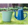 Xala Eimer Drop Grün mit Lungo blau Giekanne aus Kunststoff im Garten