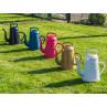 Xala Lungo Giesskanne gold weiss pink schwarz und blau aus Kunststoff 12 Liter modernes Design Gruppe
