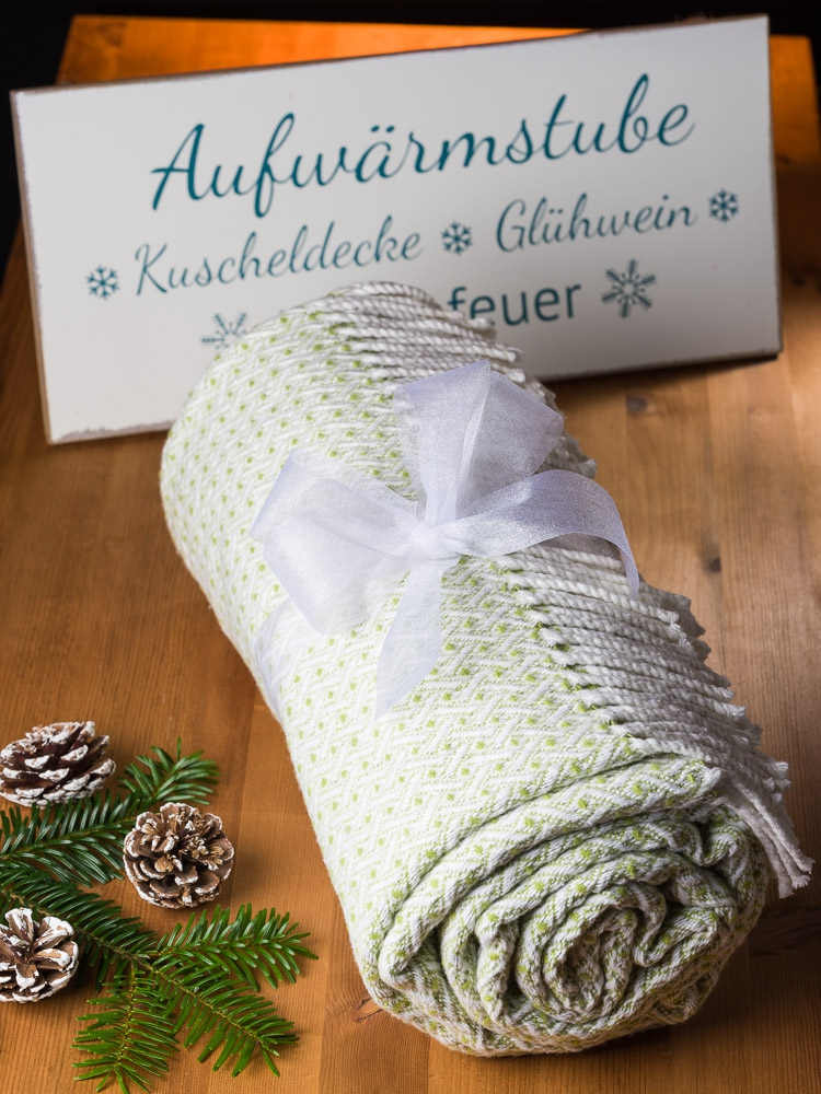 Weihnachtsgeschenke aus Dankbarkeit für die Eltern Decke Pad Design
