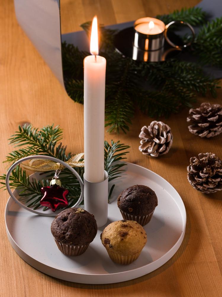 Weihnachtsgeschenke für Männer ab 60, die glücklich machen - Bloomingville Kerzenhalter