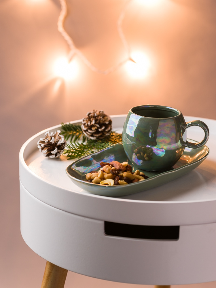 Ausgefallene Weihnachtsgeschenke für Männer gestalten den Gabentisch interessanter - Bloomingville Tisch Geschirr Paula Tasse