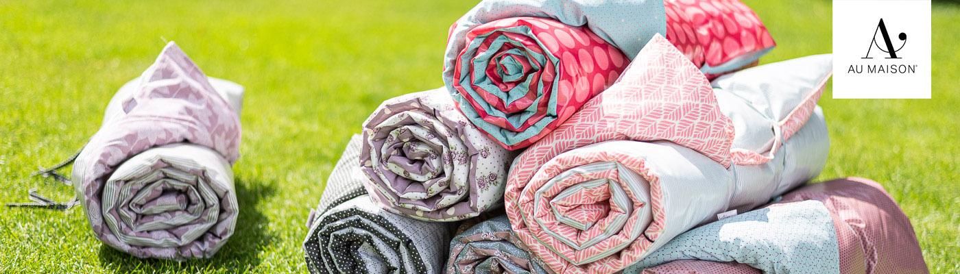 AU Maison Shop - Picknickdecken und Krabbeldecke verschiedene Farben und Muster - skandinavisch modern perfekt für den Sommer