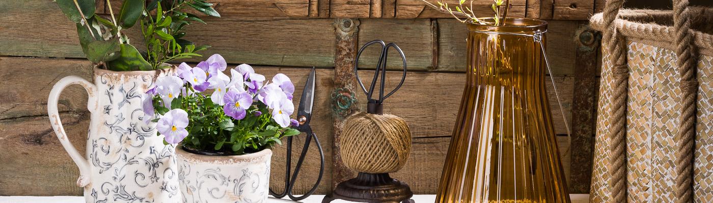 Affari of Sweden Shop - Außergewöhnliche Vintage Deko  Kannen Blumentöpfe Windlichter und Accessoires - Shabby Chic und Hygge Style