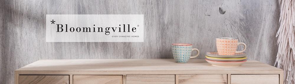 Bloomingville Carla Geschirr, Espresso Tassen mit Untertassen