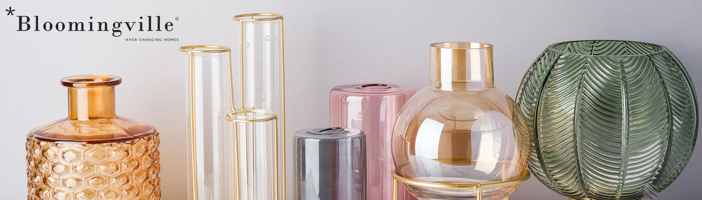 Bloomingville Vasen Shop - Dekoration aus Glas - modernes Design - viel Farben grosse Auswahl