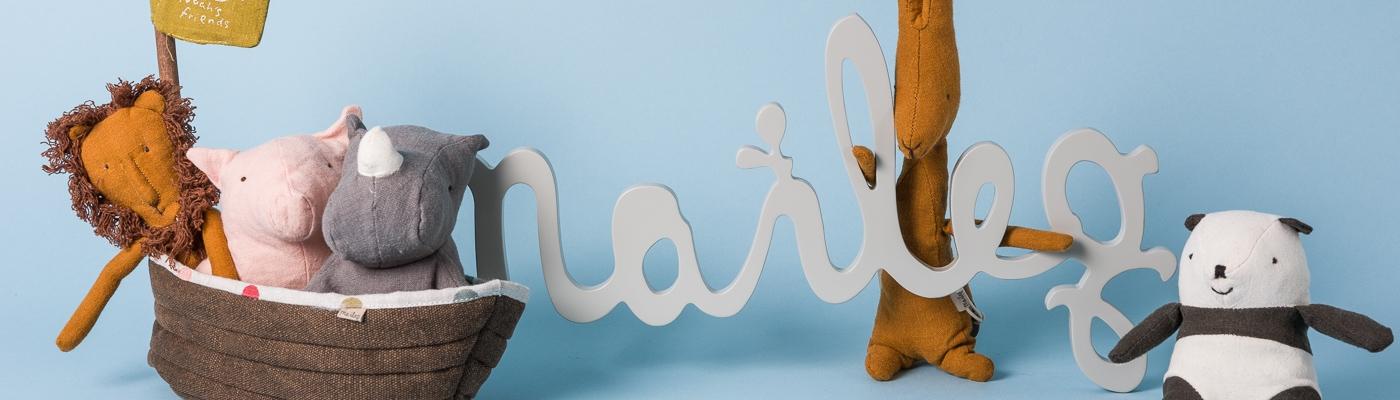 Maileg Shop - Noahs Friends Arche - Panda Giraffe Loewe Rhino Schwein Figuren Sammeln