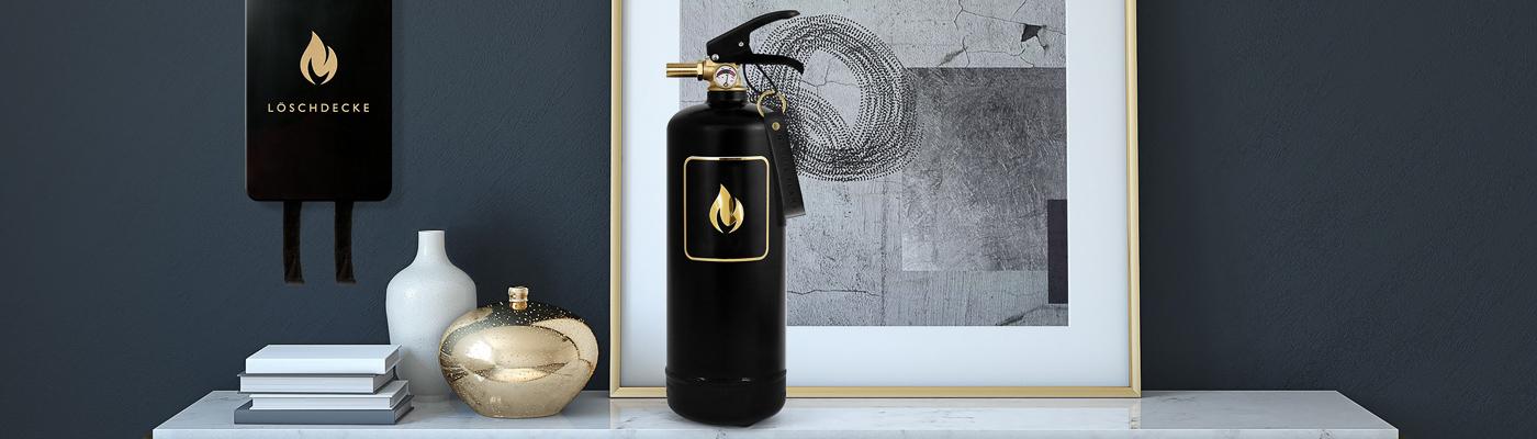 Nordic Flame Shop - Feuerlöscher und Löschdecken - Design Brandschutz nach Din EN Norm - für das stylische Zuhause