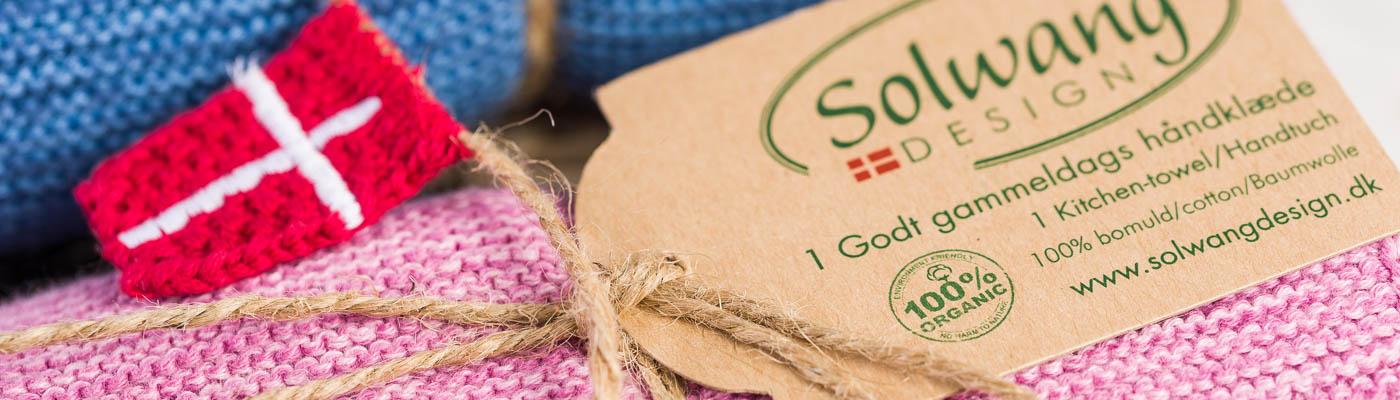 Solwang-Shop - Wischlappen Küchentuch Organic Baumwolle Bio - Dänemark