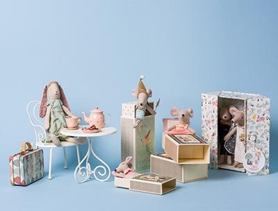 Maileg Figuren Mäuse Schweine und Wichtel, online bestellen bei Wohnhaus Welten